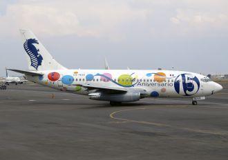 XA-NAK - Aviacsa Boeing 737-200