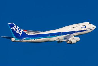 JA8960 - ANA - All Nippon Airways Boeing 747-400D