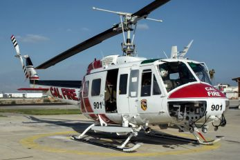 N489DF - California - Dept. of Forestry & Fire Protection Bell EH-1X Iroquois