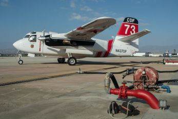 N437DF - California - Dept. of Forestry & Fire Protection Grumman S-2F Tracker