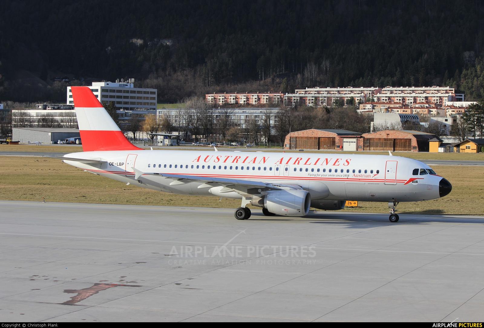 Austrian Airlines/Arrows/Tyrolean OE-LBP aircraft at Innsbruck