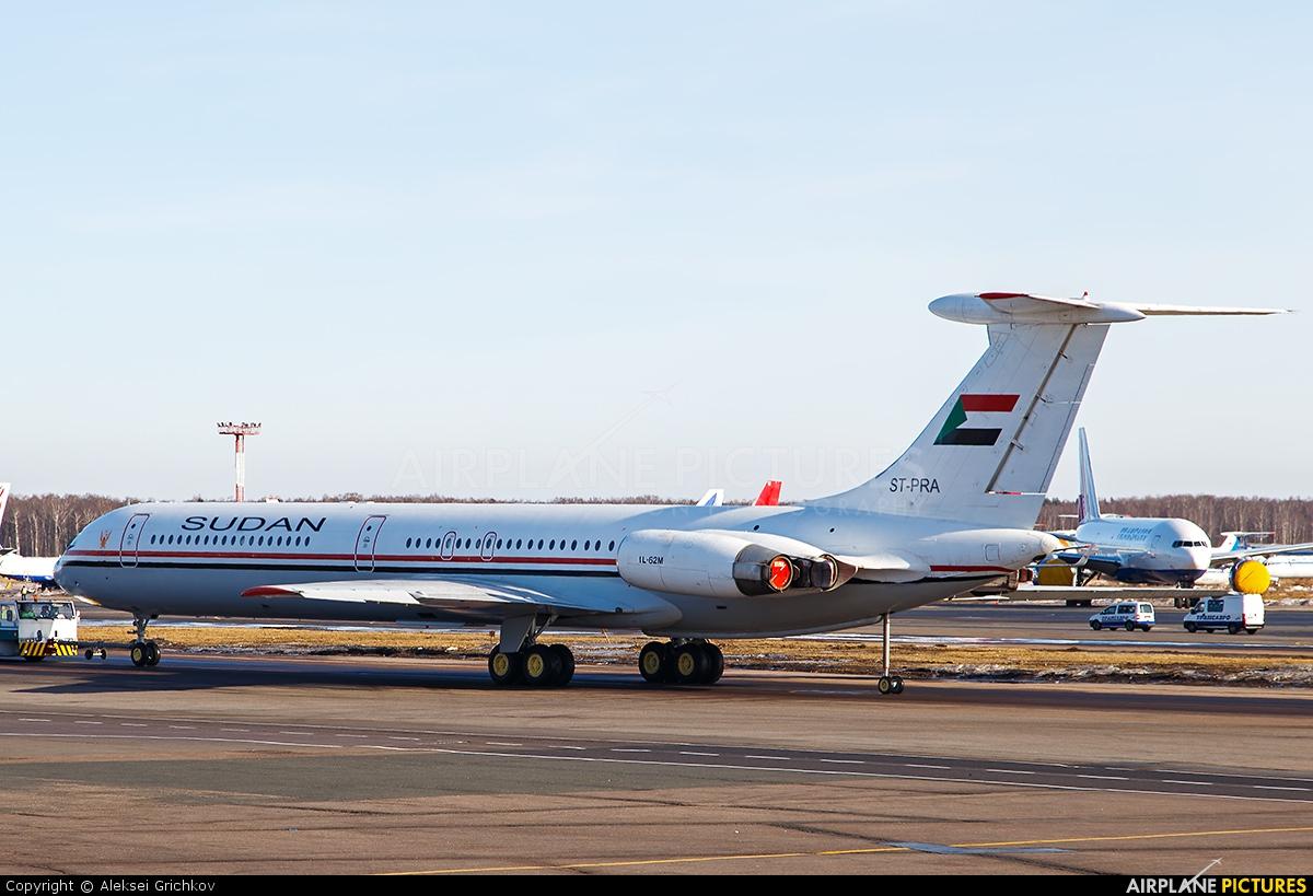 Sudan - Government ST-PRA aircraft at Moscow - Domodedovo