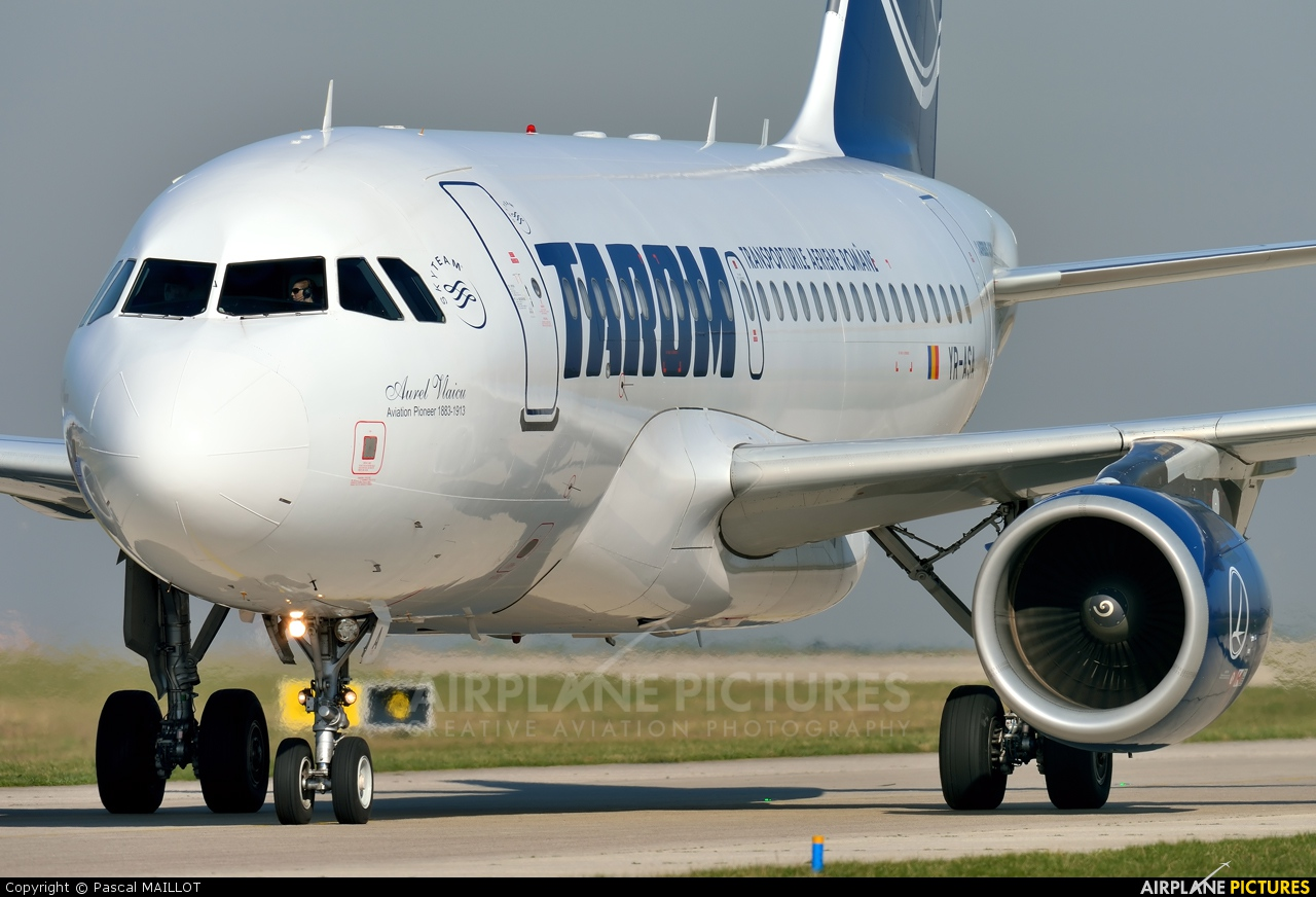Tarom YR-ASA aircraft at Paris - Charles de Gaulle