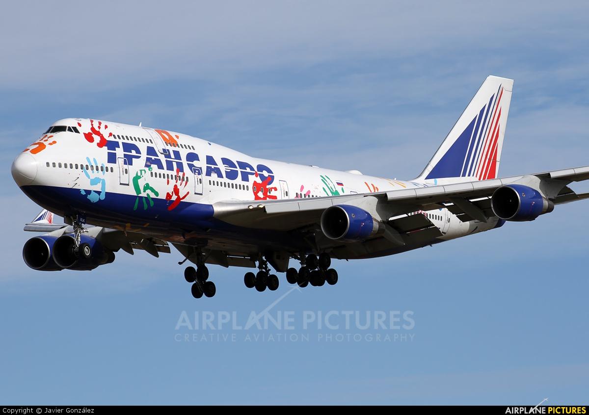 Transaero Airlines EI-XLK aircraft at Barcelona - El Prat