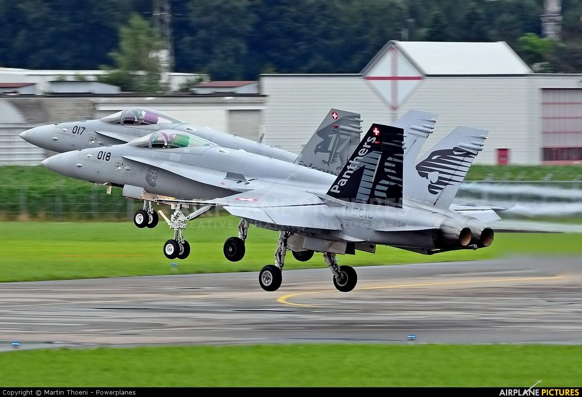 Switzerland - Air Force J-5018 aircraft at Emmen