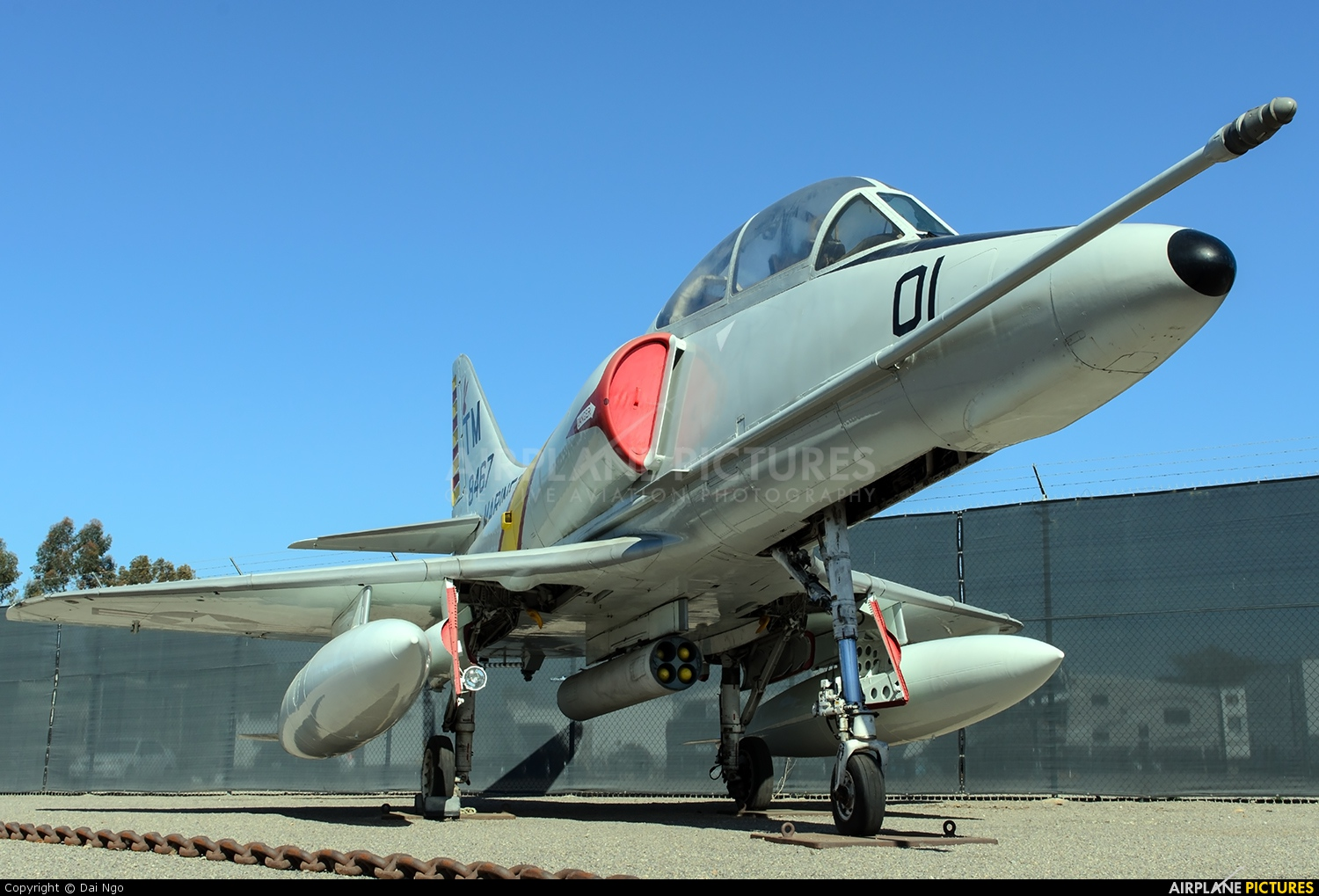 USA - Marine Corps 158467 aircraft at Miramar MCAS - Flying Leatherneck Aviation Museum