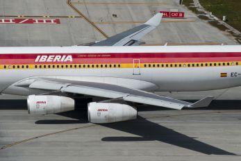 EC-LHM - Iberia Airbus A340-300