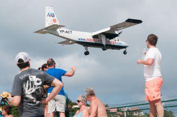 VP-ACT - Anguilla Air Services Britten-Norman BN-2 Islander