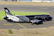 ZK-OJR - Air New Zealand Airbus A320 aircraft