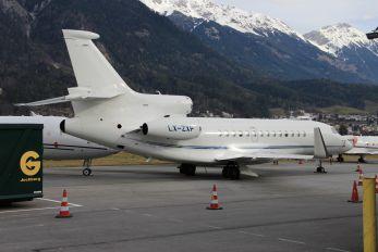 LX-ZXP - Private Dassault Falcon 7X