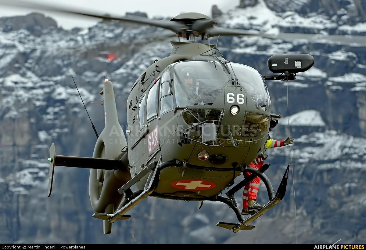 Switzerland - Air Force T-366 aircraft at Axalp - Ebenfluh Range
