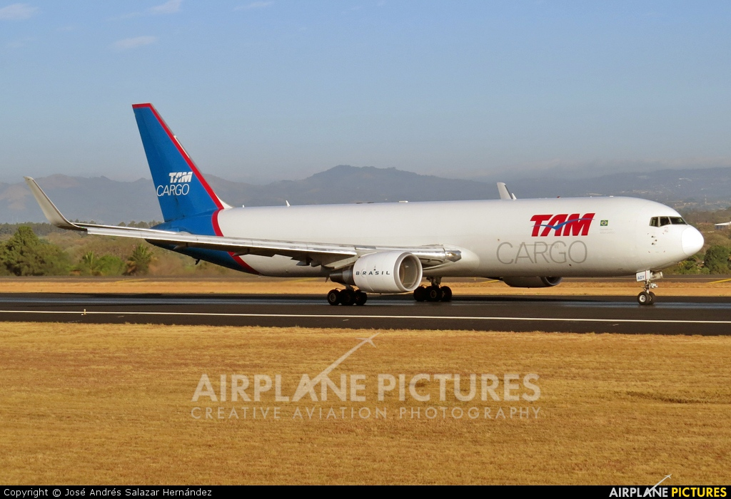 TAM Cargo PR-ADY aircraft at San Jose - Juan Santamaría Intl