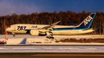 JA817A - ANA - All Nippon Airways Boeing 787-8 Dreamliner aircraft
