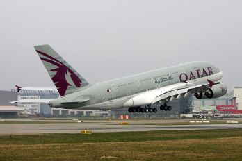 F-WWST - Qatar Airways Airbus A380