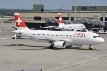 HB-IJI - Swiss Airbus A320
