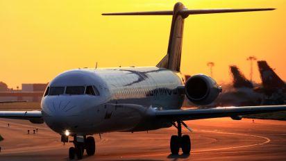 D-AGPH - Contact Air - Lufthansa Regional Fokker 100