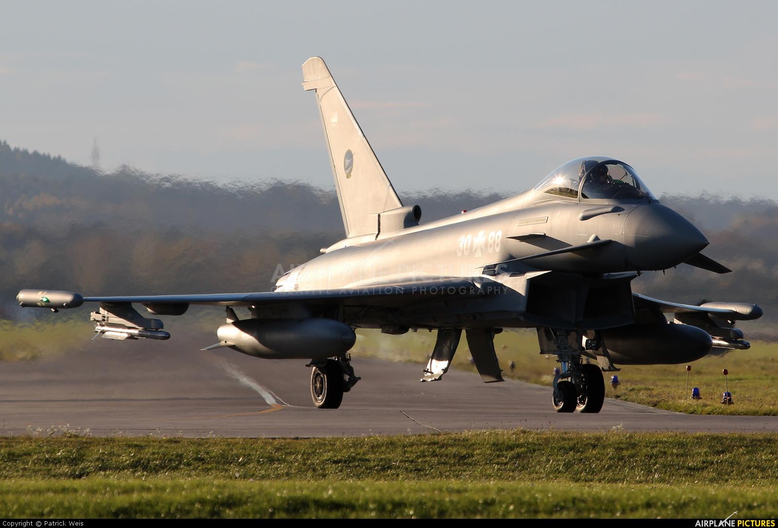 Germany - Air Force 30+88 aircraft at Neuburg - Zell