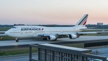 Atlanta, Air France 747 temps for 777 title=