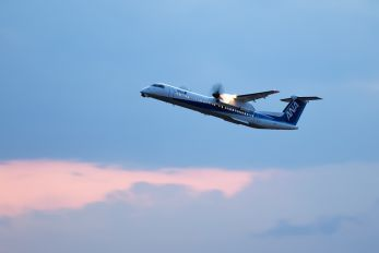 JA851A - ANA - Air Central de Havilland Canada DHC-8-400Q / Bombardier Q400