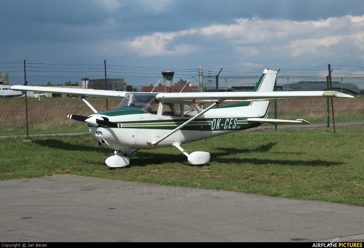 Private OK-CES aircraft at Brno - Tuřany