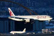 A7-BEA - Qatar Airways Boeing 777-300ER aircraft