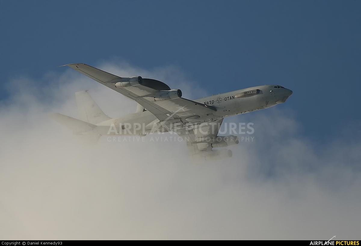 NATO LX-N90451 aircraft at Waddington