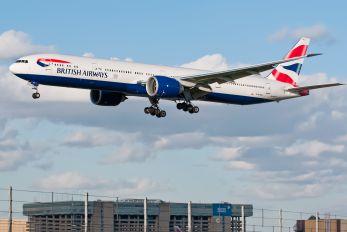 G-STBG - British Airways Boeing 777-300ER