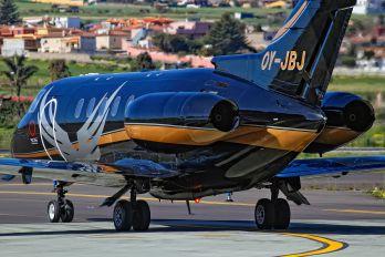 OY-JBJ - Private Raytheon Hawker 800XP