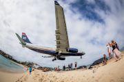 N283AY - US Airways Airbus A330-200 aircraft