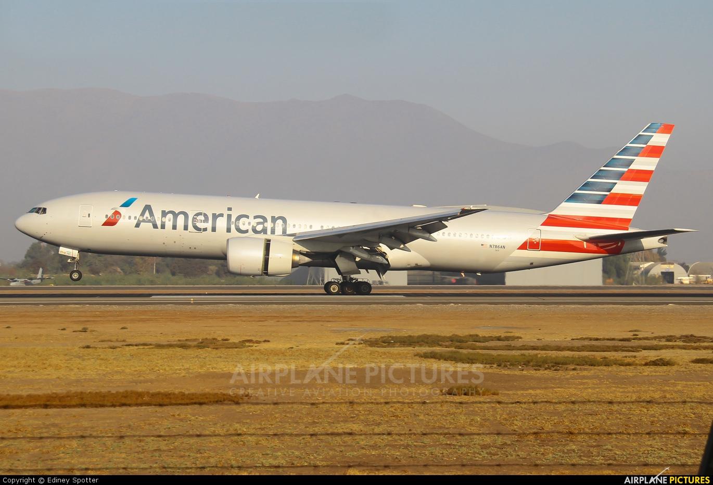 American Airlines N786AN aircraft at Santiago de Chile - Arturo Merino Benítez Intl