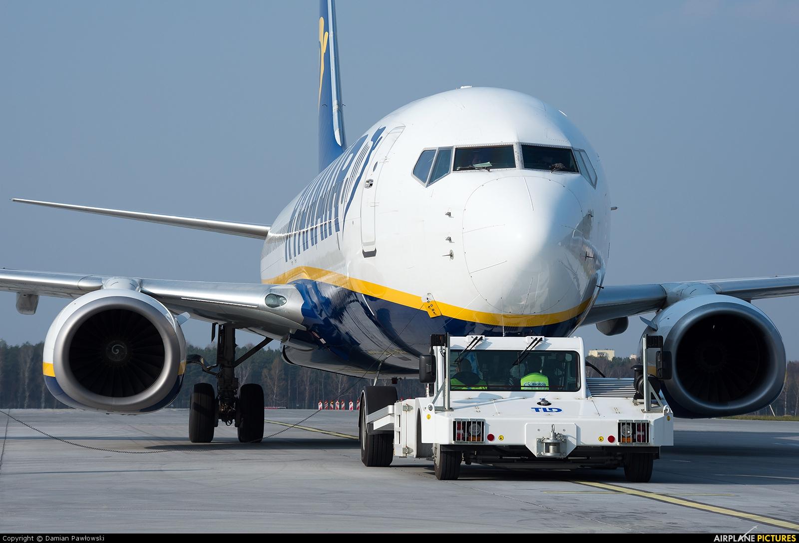 Ryanair EI-DAI aircraft at Bydgoszcz - Szwederowo