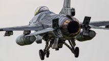 FA-72 - Belgium - Air Force General Dynamics F-16A Fighting Falcon aircraft