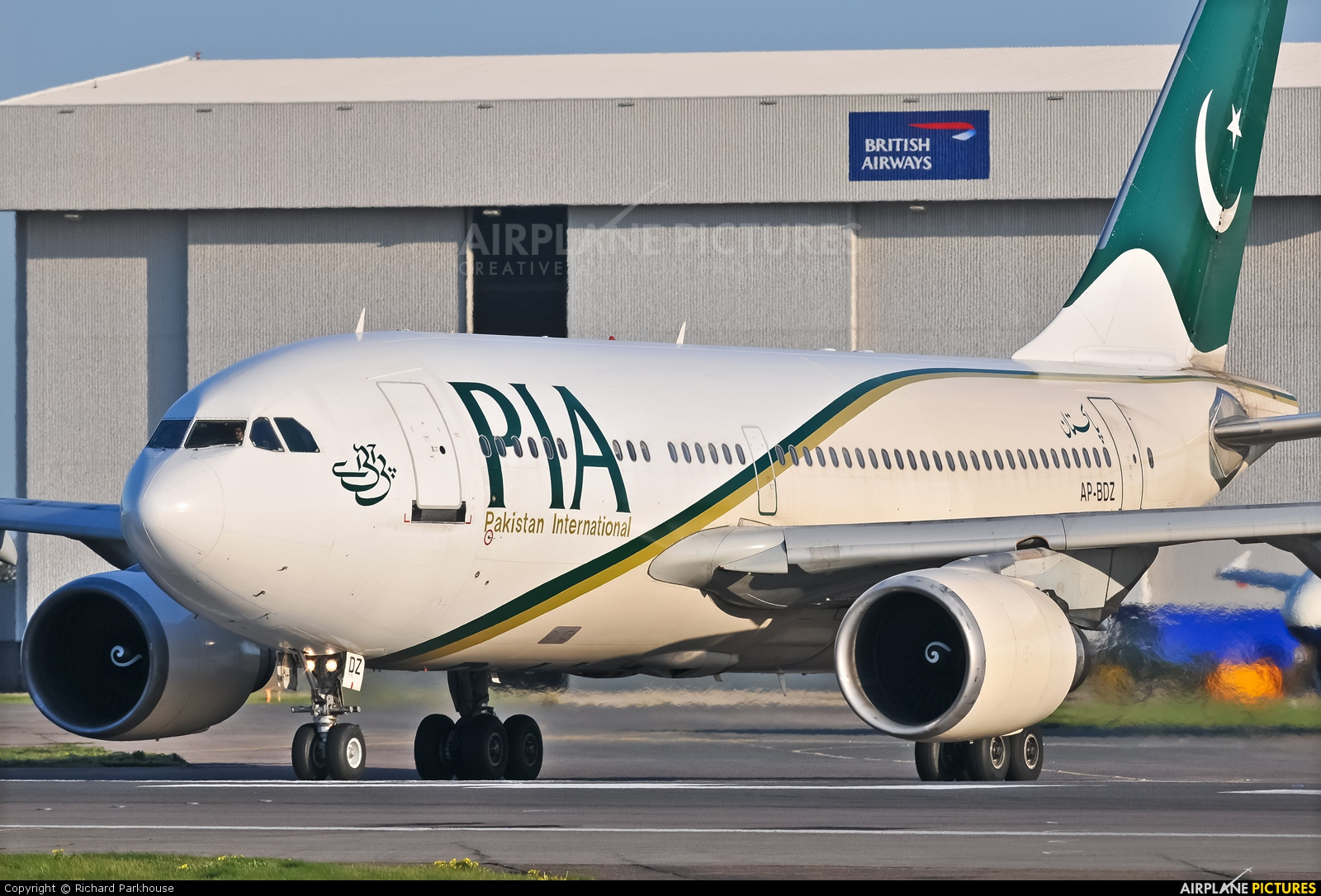 PIA - Pakistan International Airlines AP-BDZ aircraft at London - Heathrow