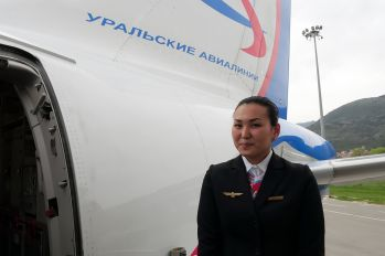 VQ-BLO - Ural Airlines - Aviation Glamour - Flight Attendant