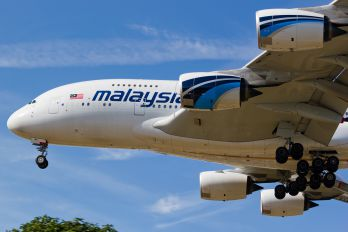 9M-MNC - Malaysia Airlines Airbus A380