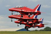 "XX177 - Royal Air Force ""Red Arrows"" British Aerospace Hawk T.1/ 1A aircraft"