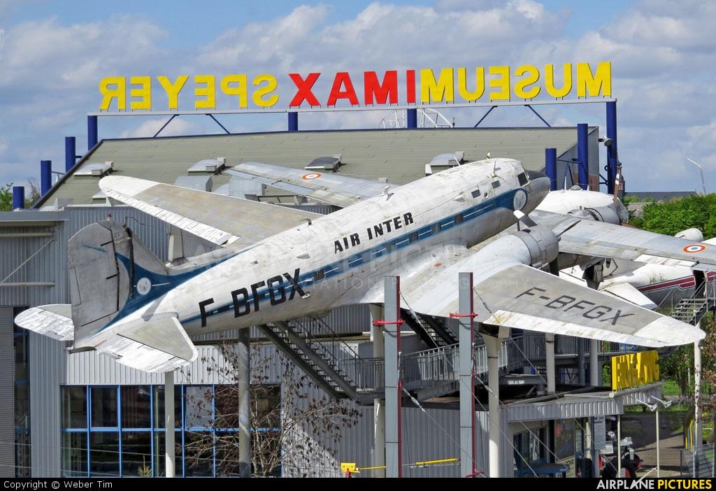 Air Inter F-BFGX aircraft at Speyer, Technikmuseum