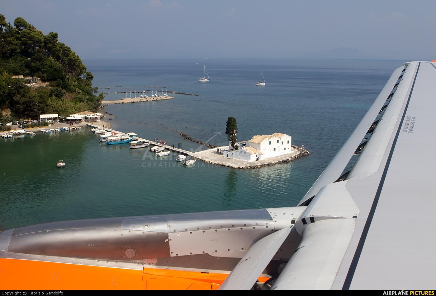 easyJet G-EZWB aircraft at Corfu - Ioannis Kapodistrias