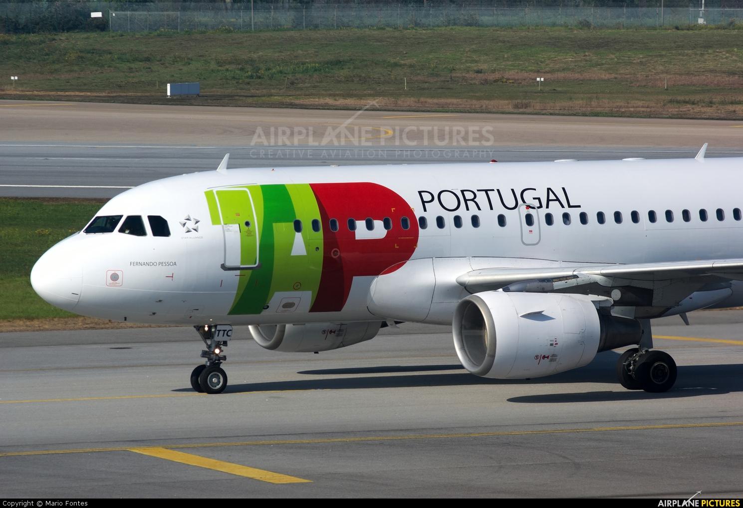 TAP Portugal CS-TTC aircraft at Porto