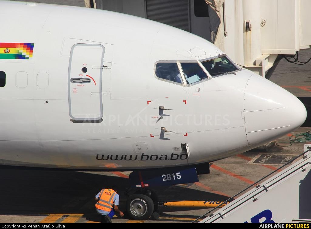Boliviana de Aviación - BoA CP-2815 aircraft at São Paulo - Guarulhos