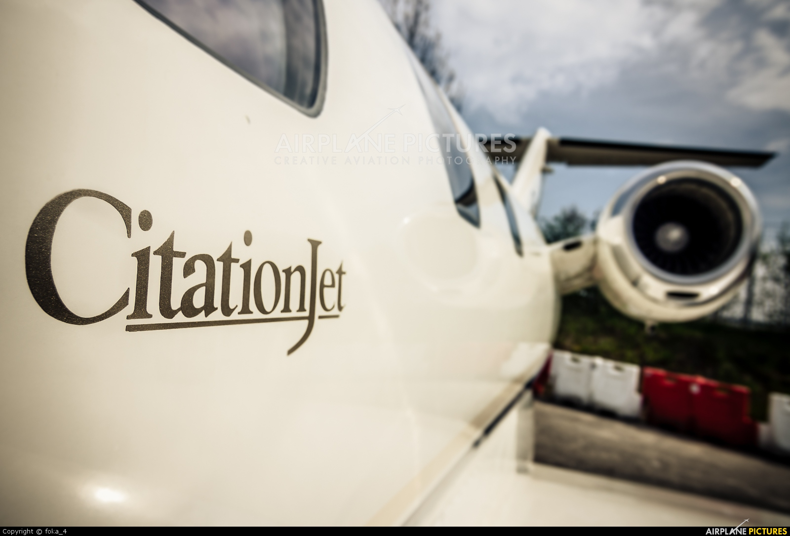 Private D-ILAT aircraft at Friedrichshafen
