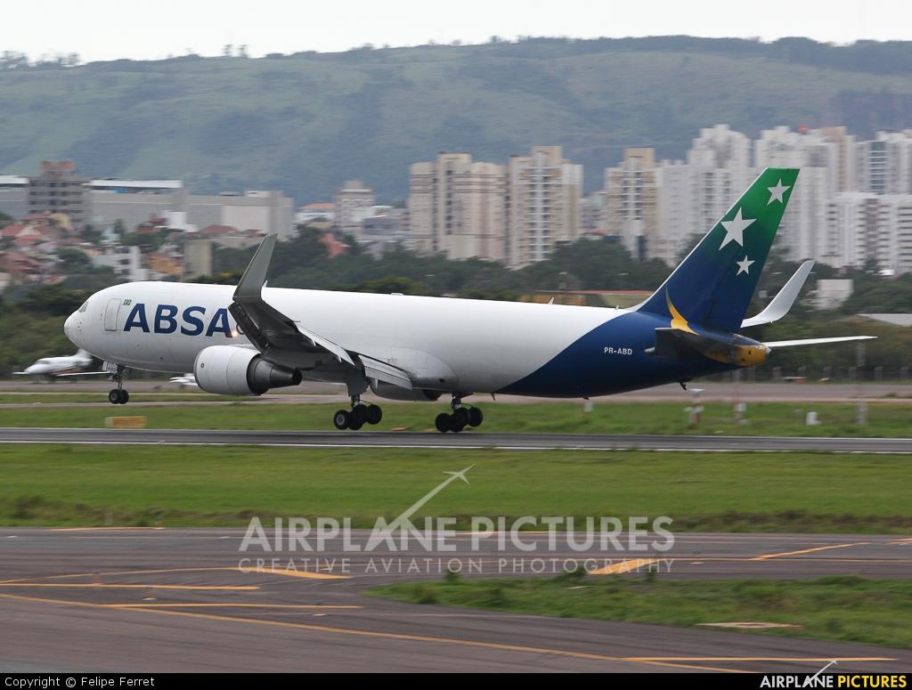 ABSA Cargo PR-ABD aircraft at Porto Alegre - Salgado Filho
