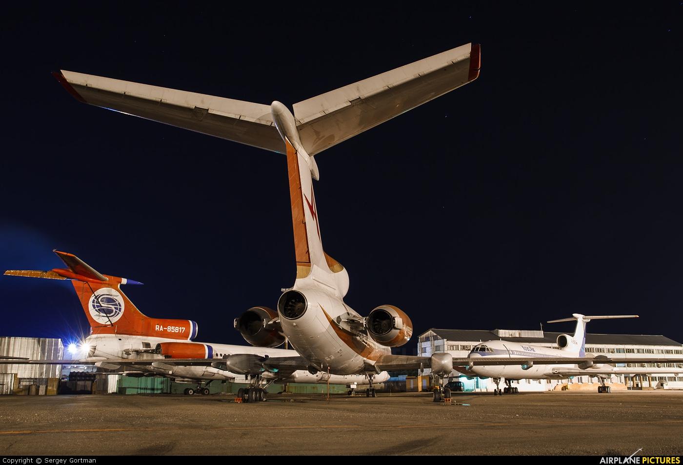 Continent RA-85123 aircraft at Krasnoyarsk - Yemelyanovo