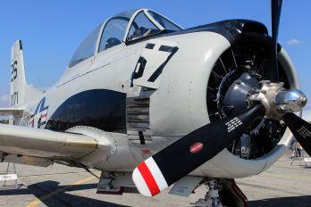 NX28ZZ - Private North American T-28C Trojan