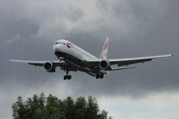 G-BZHC - British Airways Boeing 767-300ER