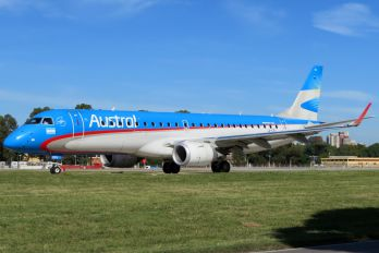 LV-CEU - Austral Lineas Aereas Embraer ERJ-190 (190-100)