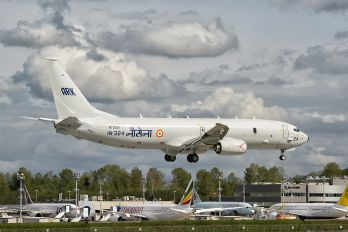 N720DS - India - Navy Boeing P-8I Neptune
