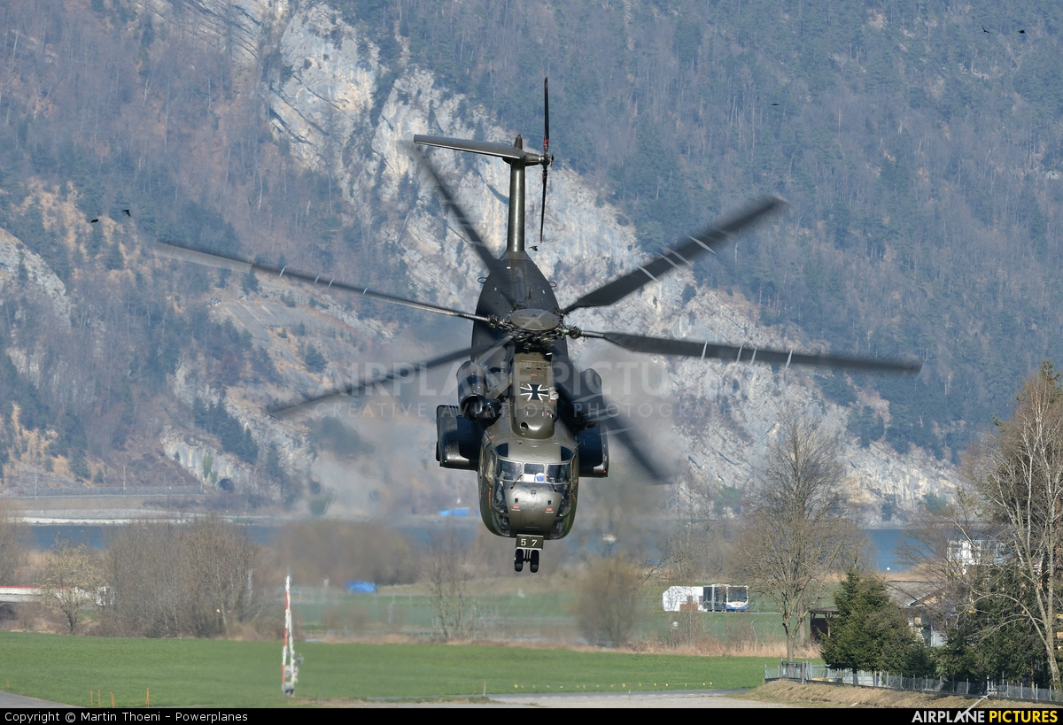 Germany - Air Force 84+57 aircraft at Alpnach