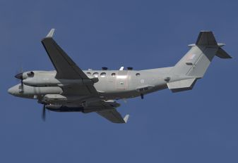 ZZ417 - Royal Air Force Beechcraft 300 Shadow R.1