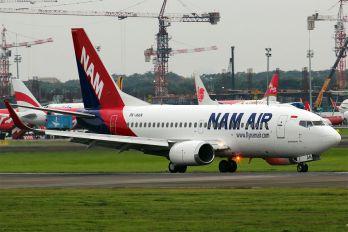 PK-NAN - NAM Air Boeing 737-500